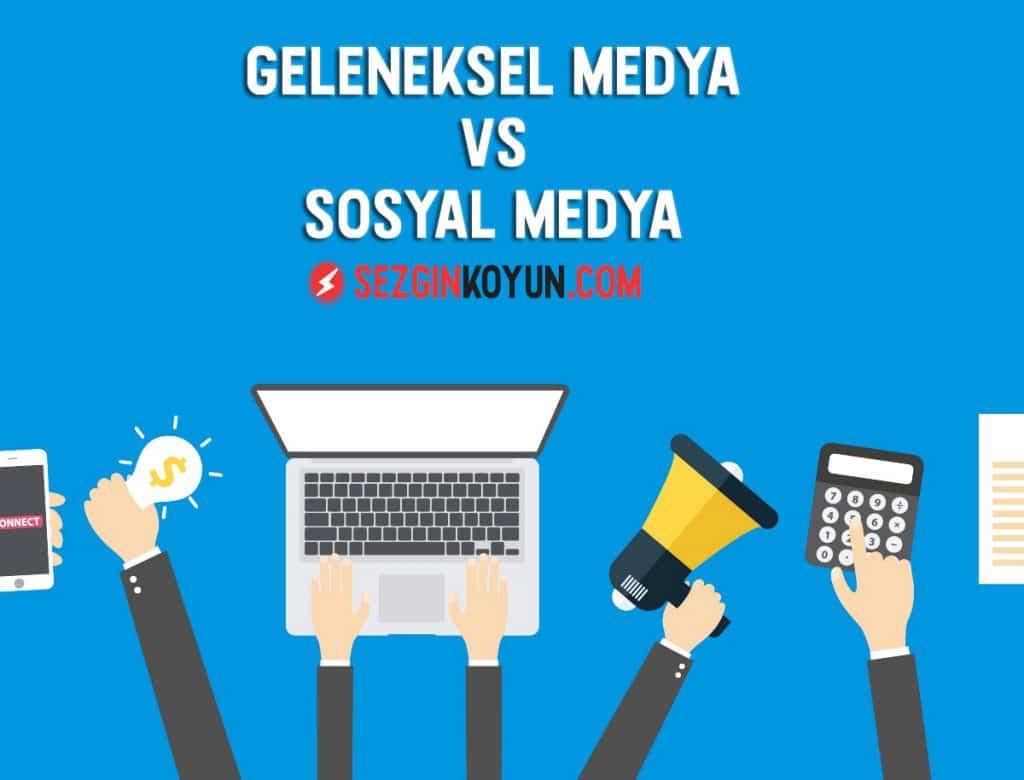 Marka itibarı yönetimi için sosyal medya kullanılmalıdır. Bu yazıda geleneksel medya ile sosyal medya hakkında tartıştık.