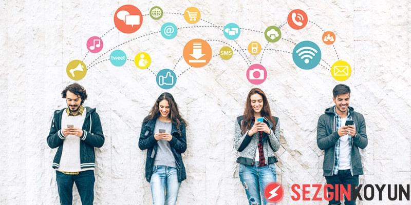 Sosyal Medya üzerinde reklamın büyük etkisi var.