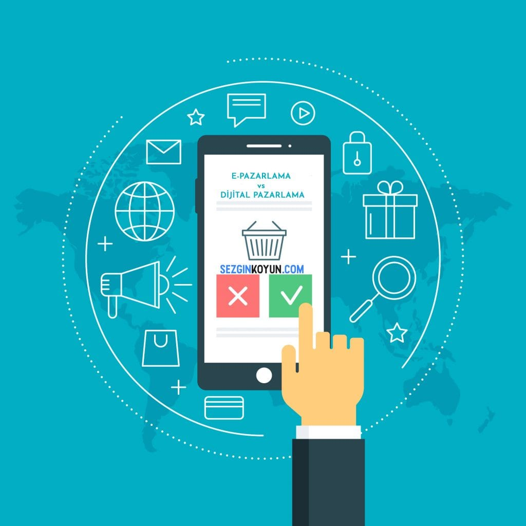 E-pazarlama Vs Dijital Pazarlama: 2019 için daha iyi olan nedir?