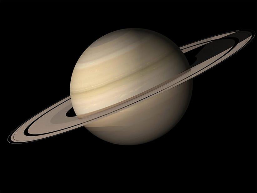 Satürn'ün Halkaları Gezegenin Kendisinden Daha Genç