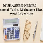 Muhasebe Nedir? 5 Finansal Tablo, Muhasebe İlkeleri