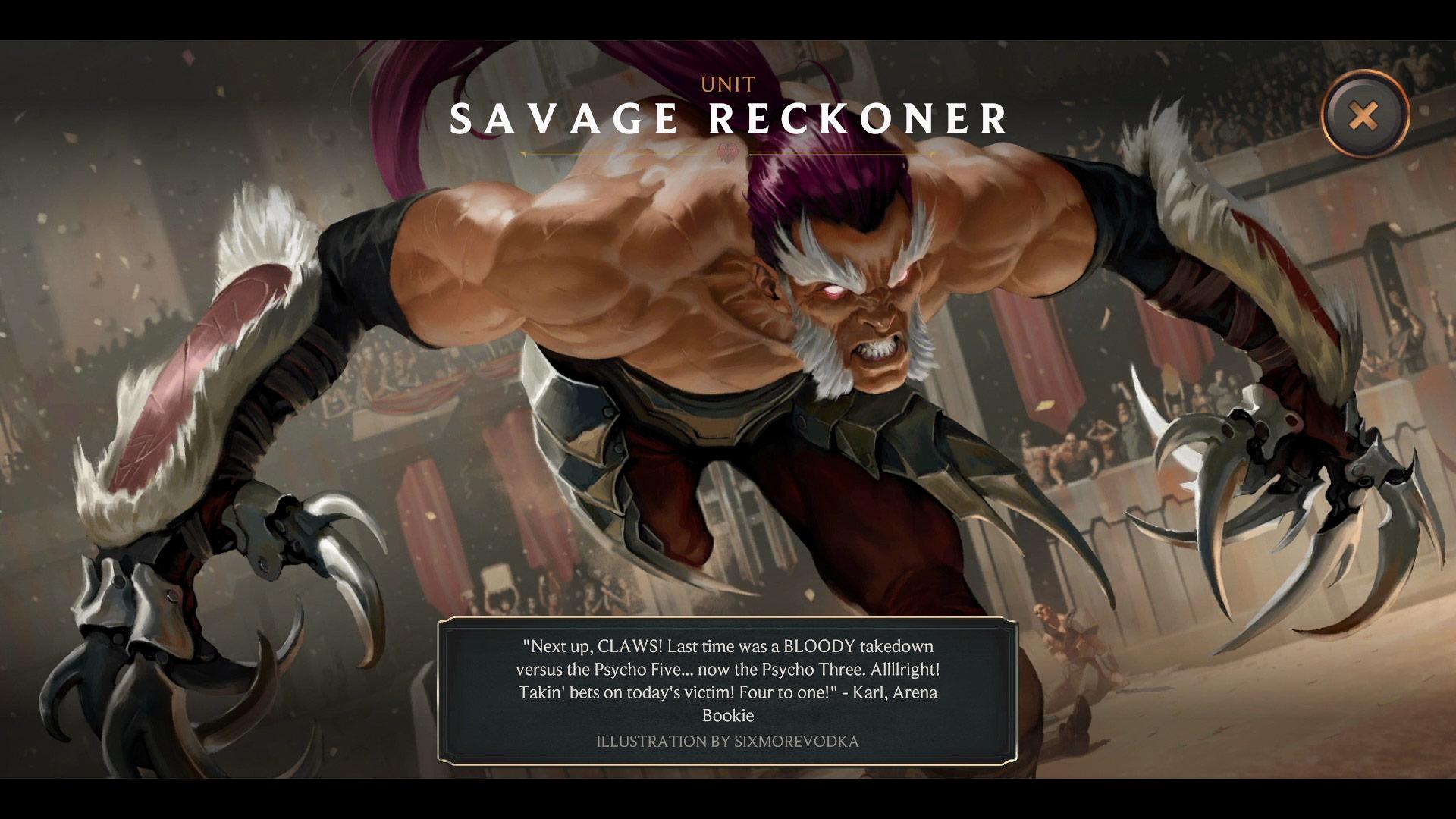 Legends of Runeterra Savage Reckoner
