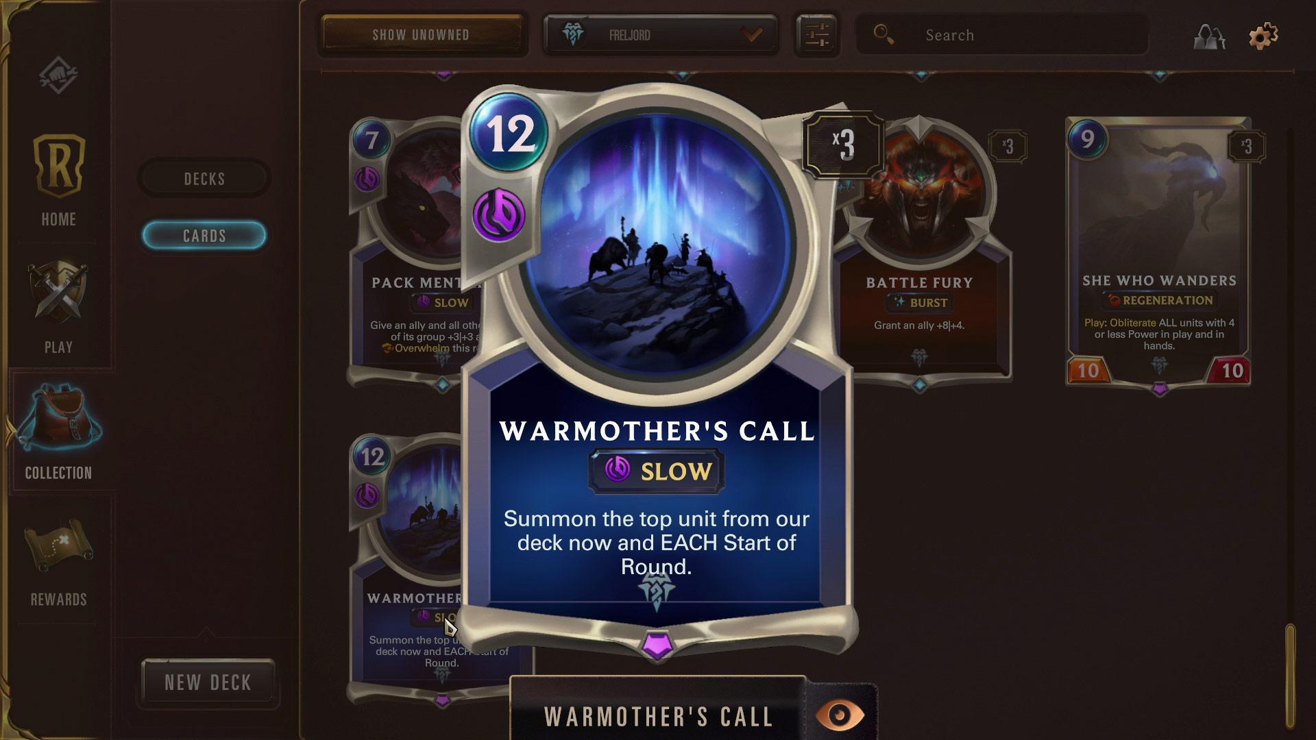 Legends of Runeterra Warmother