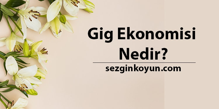 Photo of Gig Ekonomisi Nedir? Gig Pazar Rehberiniz