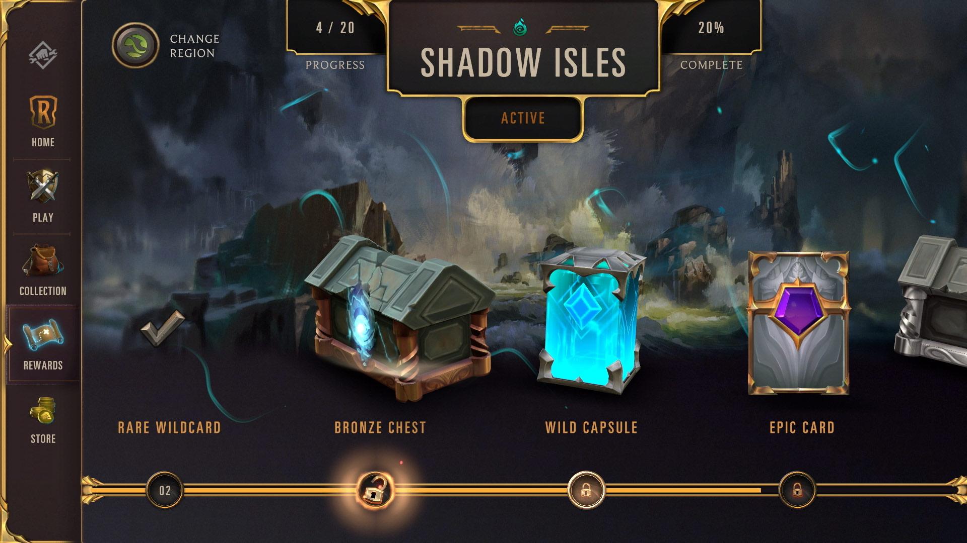Legends of Runeterra Shadow Isles