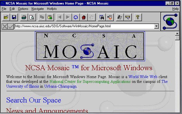 Mosaic Web Tarayıcısı