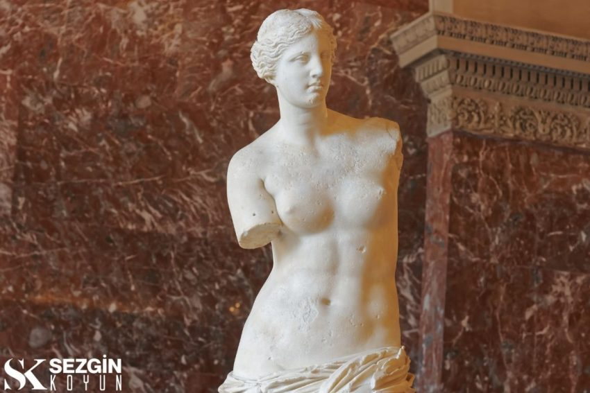 Afrodit Deniz Köpüğünden Ortaya Çıkan Tanrıça